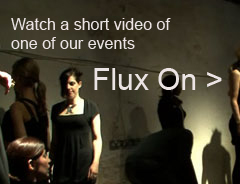 See our video of Flux On - A performative event in a South London gallery showcasing the collections of Flux Jewellers.