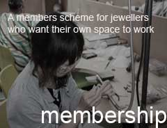 The Flux Studios membership scheme is for proficient jewellers who are looking to join a shared jewellery studio to develop their work and their jewellery business. We are a small organisation of awardwinning jewellers and we share skills and knowledge to support and assist each other towards success