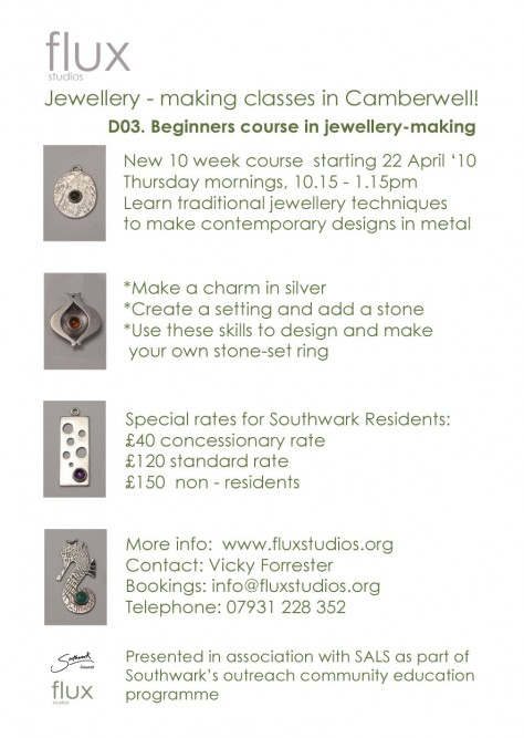 jewellery making course in Camberwell