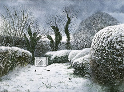 David Gentleman, Dulwich Picture Gallery Christmas Card 2010