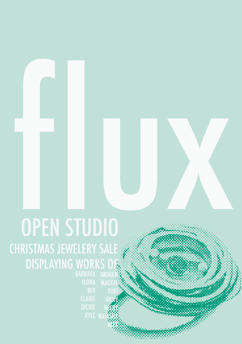 Flux Open Studios at Vanguard Court, winter 2011