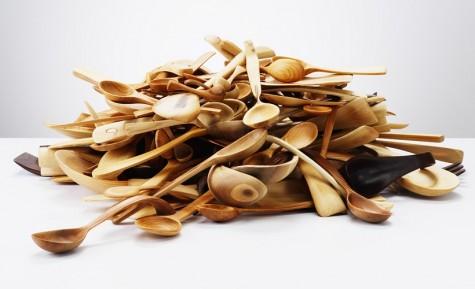 Nic Webb, artist maker, creates beautiful objects in wood