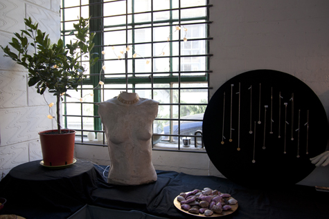 Flux Studios jewellery exhibition, Winter Open Studios at Vanguard Court